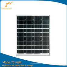 Panel solar fotovoltaico Sungold 75W con alta eficiencia (SGM-75W)