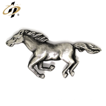 Wholesale personnalisé badge cheval 3d