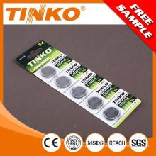 TINKO coincell CR2016 5pcs/blister 10pcs/blister OEM accueilli
