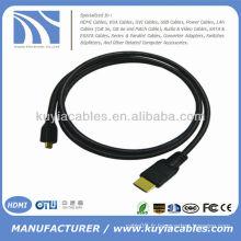 15 FT Micro HDMI Câbles V1.4 3D pour HDTV PlayBook HTC EVO