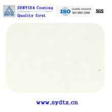 Peinture de revêtement en poudre de blanc laiteux