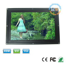LED backlit wide screen 12 inch 16:9 open frame LCD monitor with VGA input