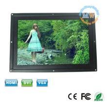 LED backlit widescreen 12 polegadas 16:9 frame aberto monitor LCD com entrada VGA