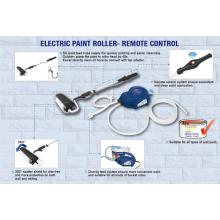JS Paint System rodillo de pintura de energía eléctrica para paredes y techos DIY 45W con cepillo JS610GT