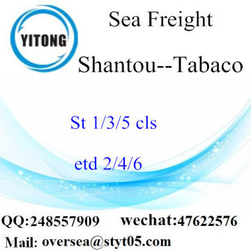 Shantou Port LCL Consolidation To Tabaco