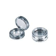 Cas de ronde poudre cosmétique vide
