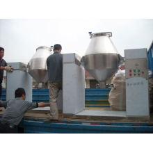 2017 misturador cônico dobro da série de W, misturador sem fio da imersão dos SS, secador de vácuo horizontal do cone giratório