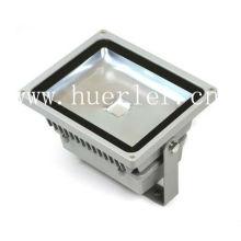 El aluminio cuadrado 100-240v 110v 220v IP65 al aire libre 50w llevó el proyector floodlighting la luz de inundación ce rohs