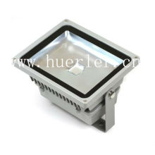 Square aluminum 100-240v 110v 220v IP65 outdoor 50w led projector floodlighting flood light ce rohs