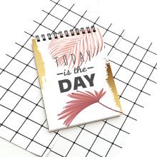Aujourd'hui est le jour Cahier à spirale A5