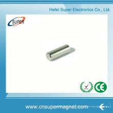 Aimant de cylindre de néodyme de nickel de haute qualité