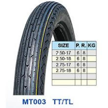 Moto pneu, pneu avant 2.50-17 18 / 2.50 2.75-17 2,75-18