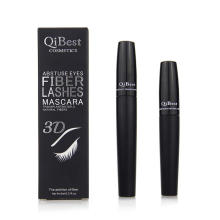 Máscara de pestañas Qibest 3D Fiber Lashes Mascara Cosmetics