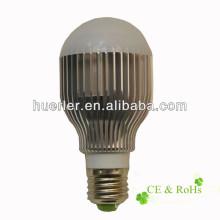 Vente chaude 3w 5w 7w 9w 12w e27 e26 b22 e27 7w led ampoule blanc frais