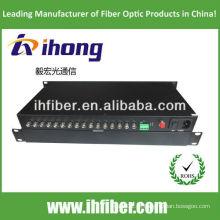 Fibra Óptica Video Converter 16 canais singlemode 20/40 / 60km de alta qualidade final