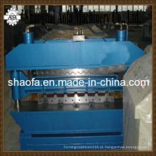 Máquina formadora de rolos para telhados de camada dupla (AF-D1025 / 1000)
