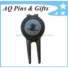 Professional Manufacturer Golf Divot Tool with Ball Marker (Golf-01)