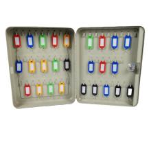 China Factory high quality Steel Key safe Box Key Cabinet key boxwith lock  for 45 hooks