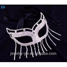 Оптовые кристаллические маскарадные маски города партии для королевы, сексуальная маска