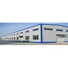 Niedrige Kosten-große Spannen-Stahlraum-Rahmen-Struktur-Lagerhalle