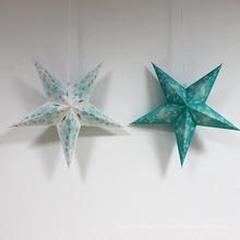 Estrella de Navidad de papel para artículos de fiesta de decoración de Navidad