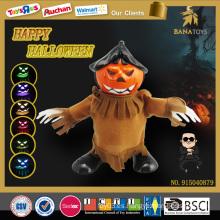 Artículos calientes de halloween de la calabaza del juguete de la música del estilo del gangnam del artículo de halloween de la venta