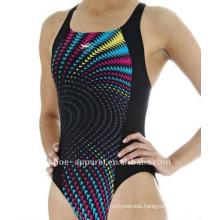 2014 new design pretty one piece swimsuit for women,ladies swimwear
