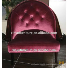 4-star hotel project commercial furniture soild wood frame arm chair XY2496