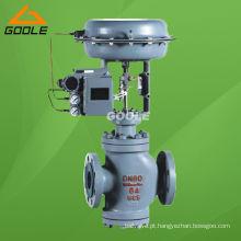 Válvula de controle pneumática de assento duplo (GAZJHN)