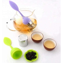 Silicone Handle Stainless Steel Tea Infuser