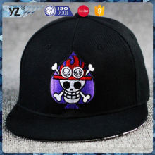 Best selling fine quality plain black mesh snapback hats with good offer