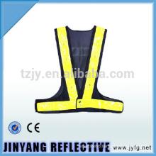 Mesh reflective vest black