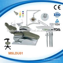 Nous avons à la fois la chaise dentaire à coût élevé et rentable (MSLDU01M)