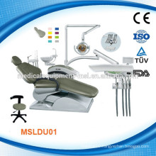 We have both of the cost-effective & high end used dental chair (MSLDU01M )