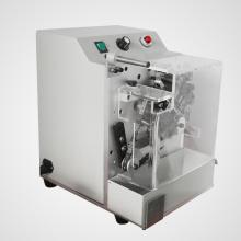 Machine de découpe et de pliage de plomb axial
