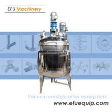 Vacuum Emulsification Mixing Tank