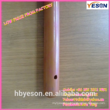low price wood mop handle/red painted wood mop handle/color painting wood mop handle
