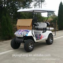 Vespa eléctrica del carro de golf 4kw para el uso campo a través