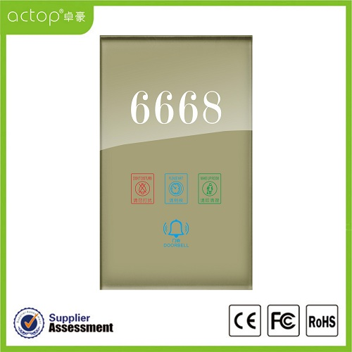 Smart Electrical Doorplate