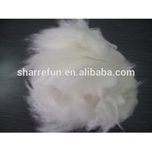 High quality dehaired angora rabbit hair white 14.5-15.0mic/32mm