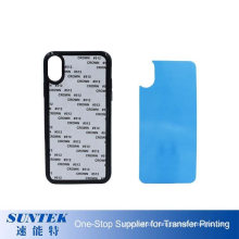 2D Soft TPU Sublimation Phone Case for iPhone X