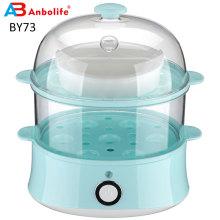 Cuiseur à oeufs rapide de capacité de 14 oeufs de cuiseur à vapeur électrique multifonctionnel de nourriture avec la chaudière à oeufs d'arrêt automatique