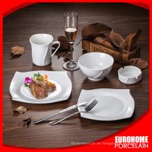 Königliche feinem Porzellan Abendessen mit Aufklebern set