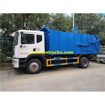 12 CBM Dongfeng Docking Trash Camions