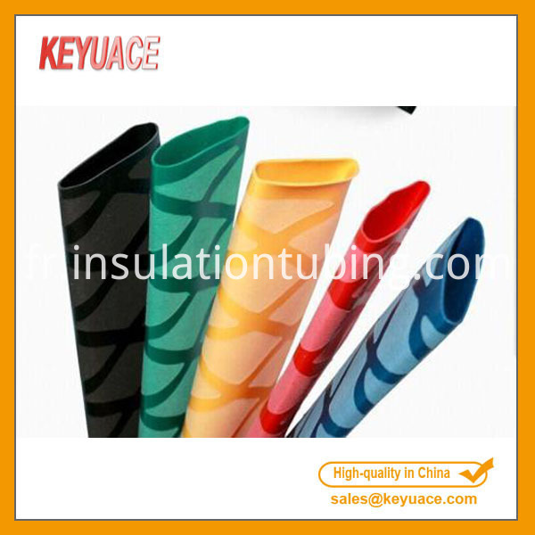 Colorful Crossed Heat Shrink Tubing