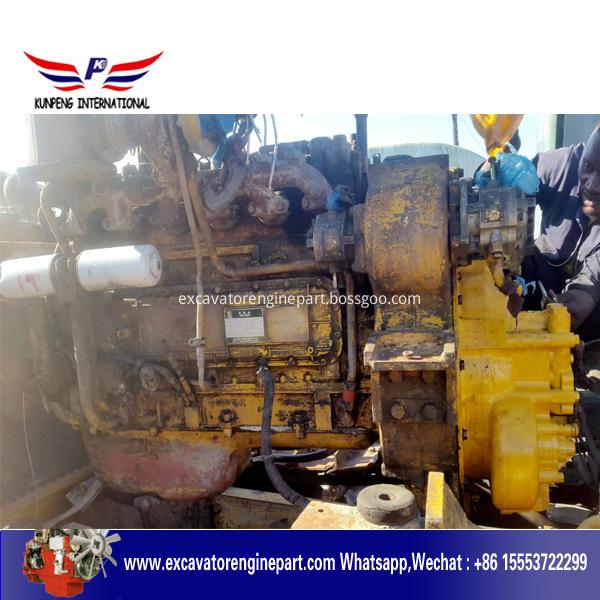 Repairing Sd16 Bulldozer