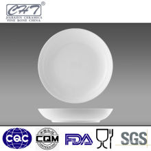 Bone china wholesale restaurant dinner meat plates in different sizes