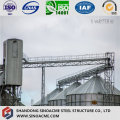 Estrutura pesada de aço do fardo para o apoio do tanque do central química