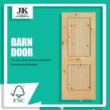 JHK-017 Cheap Barn Door System Timber Barn Door in vendita