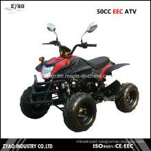 Quad ATV with EEC 50cc for Kids